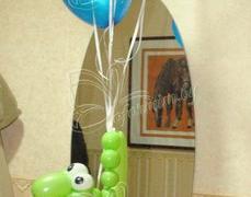 Фигура + шары с гелием